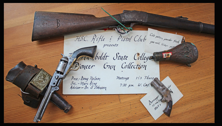 Humboldt Firearms Cache Tells Tale of The Old West