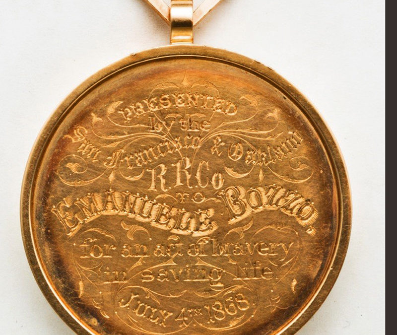 Fabulous Gold Medal Marks an Immigrant's Bravery