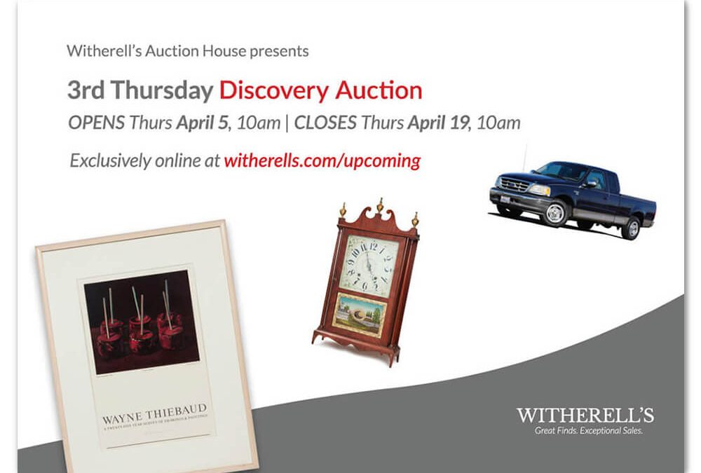 Inaugural 3rd Thursday Discovery Auction