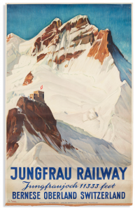 collectible travel poster