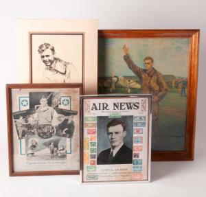 Charles Lindbergh memorabilia