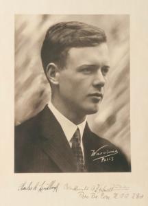 portrait of Charles Lindbergh