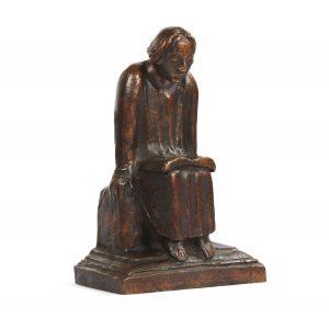 Ernst Barlach sculpture