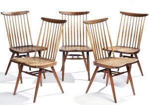 George Nakashima side chairs