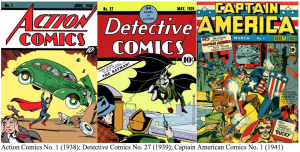 Golden Age comic book covers