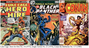 Bronze Age comic book covers